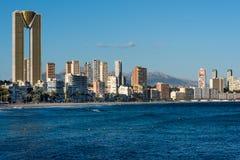 Benidorm skyline. Spain Stock Photography