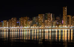 Benidorm skyline. Spain Stock Photos