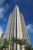 benidorm skyskrapa spain Arkivfoto