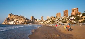 Benidorm, Spagna Fotografia Stock