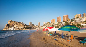 Benidorm, Spagna Fotografie Stock Libere da Diritti
