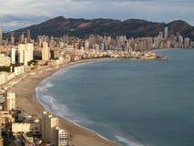 Benidorm, Spanien Stockfotos