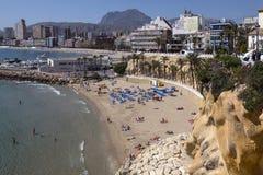 Benidorm - Spanien Lizenzfreies Stockbild