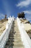 Benidorm. Stairs leading to the Balcon del Mediterraneo in Benidorm, Spain royalty free stock photo