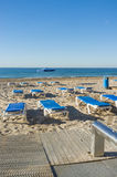 Benidorm in summer Stock Image
