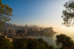 Benidorm sunrise Royalty Free Stock Images