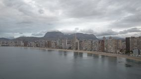 Benidorm stock footage