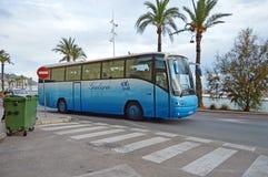 A Benidorm Tour Bus Stock Images