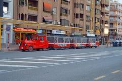 Benidorm Tourist Train Bus Tram Royalty Free Stock Photography
