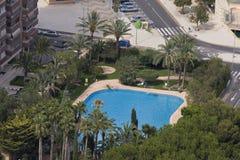 Benidorm. Um recurso de Spain Foto de Stock