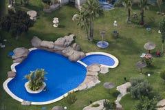 Benidorm. Um recurso de Spain Foto de Stock Royalty Free