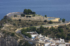 Benidorm. Um recurso de Spain Imagem de Stock Royalty Free