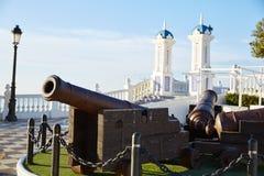 Benidorm vecchio Canon a Mirador del Castillo Immagini Stock Libere da Diritti