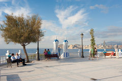 Benidorm viewpoint Stock Images