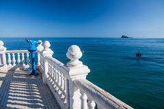 Benidorm viewpoint Stock Image