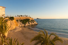 Benidorm viewpoint Royalty Free Stock Images