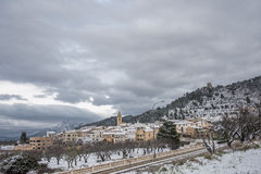 Benifallim, Alicante, Hiszpania fotografia royalty free