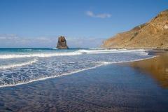 Benijo Beach Stock Photography