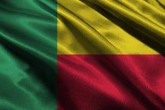 Benin flag, Benin national flag 3D illustration symbol.. Royalty Free Stock Image