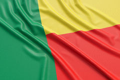 Benin flag Royalty Free Stock Photography