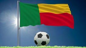 Benin futbolu i trzepota? chor?gwiane rolki