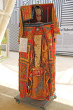 Benin god. A cereals divinity from benin at expo 2015 at milan in italy royalty free stock images