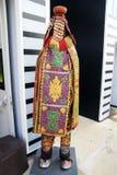 Benin standbeeld royalty-vrije stock afbeelding