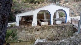 从Benisoda & x28的古老洗气器; Valencia& x29; & x28; Spain& x29; 库存图片