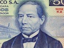 Benito Juarez Fotografía de archivo libre de regalías