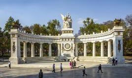 Benito Juarez-monument, Historisch Centrum, Mexico-City stock afbeelding