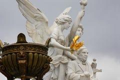 Benito Juarez monument I Arkivbild