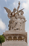 Benito Juarez Monument Mexico-City royalty-vrije stock foto