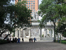 Benito Juarez Monument Mexico City Royalty Free Stock Photos