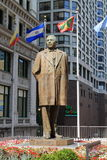 Benito Juarez Statue - Chicago Royalty Free Stock Image