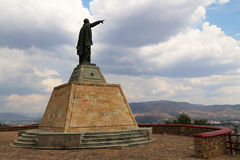 Benito Pablo Juà die ¡ rez GarcÃa over Oaxaca kijken, Mexico royalty-vrije stock fotografie