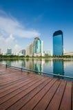 Benjakiti park thailand Stock Photography