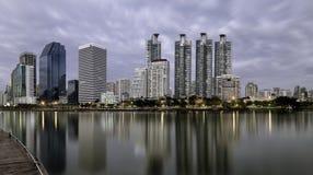 Benjakitti-Park, Bangkok, Thailand stockbilder