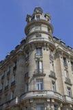 Benjaman Franklin dom, Paryski Francja, Narożnikowy Raynouard i ruciany piosenkarz w Passy sąsiedztwie, żyliśmy tutaj 1777-1785,  Zdjęcie Royalty Free