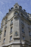 Benjaman Franklin House, Paris Frankrike, hörnet Raynouard och ruesångaren i den Passy grannskapen bodde här 1777-1785, PARIS FRA Arkivbilder
