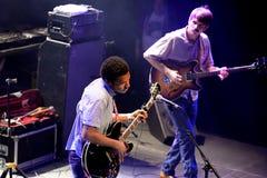 Benjamin Booker rock band in concert at Primavera Sound 2015 Festival Royalty Free Stock Photos