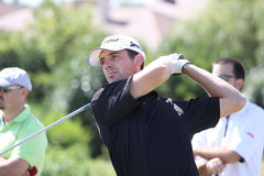 Benjamin Bruneau no golfe Prevens Trpohee 2009 Imagem de Stock