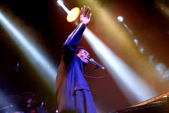 Benjamin Clementine (singer and pianist) performs at Vida Festival Royalty Free Stock Photos