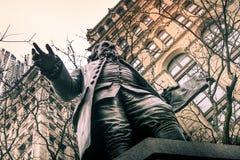 Benjamin Franklin, άγαλμα Στοκ Φωτογραφία
