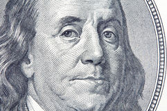Benjamin Franklin Arkivbild