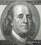 Benjamin Franklin一 免版税图库摄影