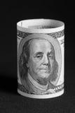 Benjamin Franklin. On the one hundred dollar bill Royalty Free Stock Photos