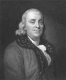 Benjamin Franklin royalty free stock images