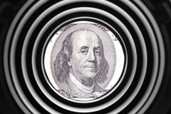 Benjamin Franklin Imagem de Stock
