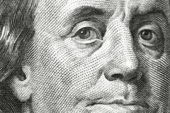 Benjamin Franklin Lizenzfreie Stockfotos
