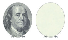 benjamin Franklin, Obraz Stock